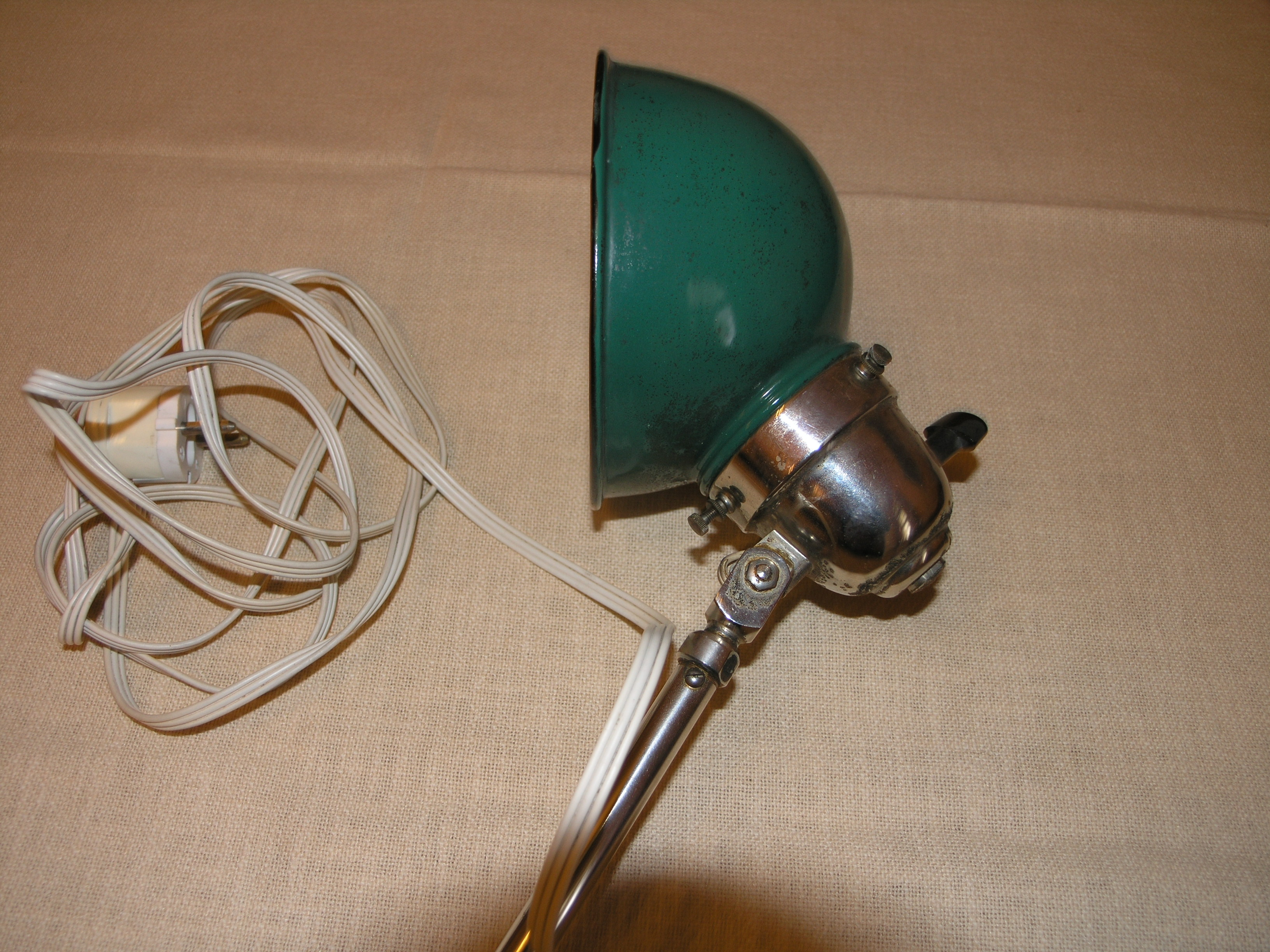 Bauhaus Lampe Machine Age